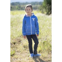 Horseware Kids Hoody blue front full