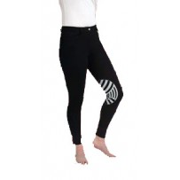 Caldene Derby Low Waist Silicone Knee Ladies Breeches
