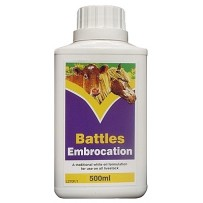 Battles Embrocation 500ml