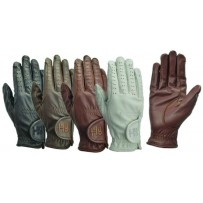 Hy5 Childs Leather Riding Gloves